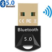 DrPhone B8 - Bluetooth 5.0 Dongle - Windows Adapter Desktop PC / Laptop - BT5.0 + EDR - Dual Modus - 2 Apparaten - 20 Meter Afstand