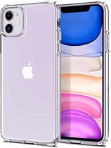 iPhone 12 hoesje en iPhone 12 Pro hoesje case siliconen transparant apple hoesjes cover hoes