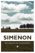 Boek cover Het rapport van de gendarme van Georges Simenon