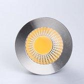 LED spot met COB LED - GU10 - 3W - 300 Lumen - 4000K - 80°