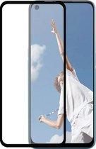 Azuri Tempered Glass flat RINOX ARMOR - zwart frame - Oppo A52 / A72