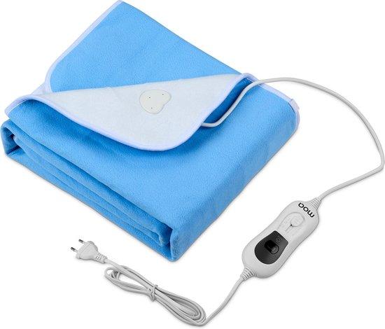 MOA Elektrische deken - Onderdeken - Polar Fleece - 150 x 80cm - 1 persoons - EUB150B