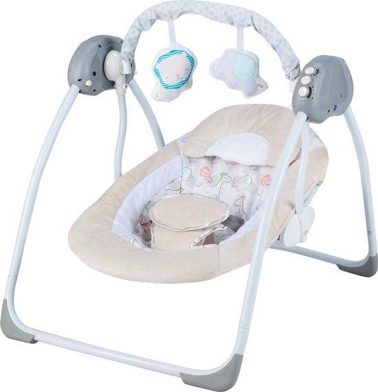 X Adventure Elektrische Babyschommel / Schommelstoel Baby Zoo