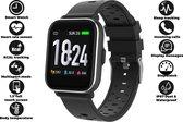 Denver SW-163 - Smartwatch - touchscreen sportwatch met hartslagmeter - Zwart