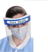 5x Gezichtscherm - Gelaatscherm - Spatscherm - Gezichtsmasker - FACE SHIELD - Beschermkap voor gezicht - bacterie - virus - veiligheidsmasker - mondkap - gezichtsschild - transparan