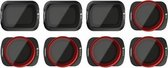 Freewell DJI Osmo Pocket (1 & 2) - All Day -8Pack ND4 , ND8 , ND16 , CPL, ND8/PL , ND16/PL , ND32/PL , ND64/PL