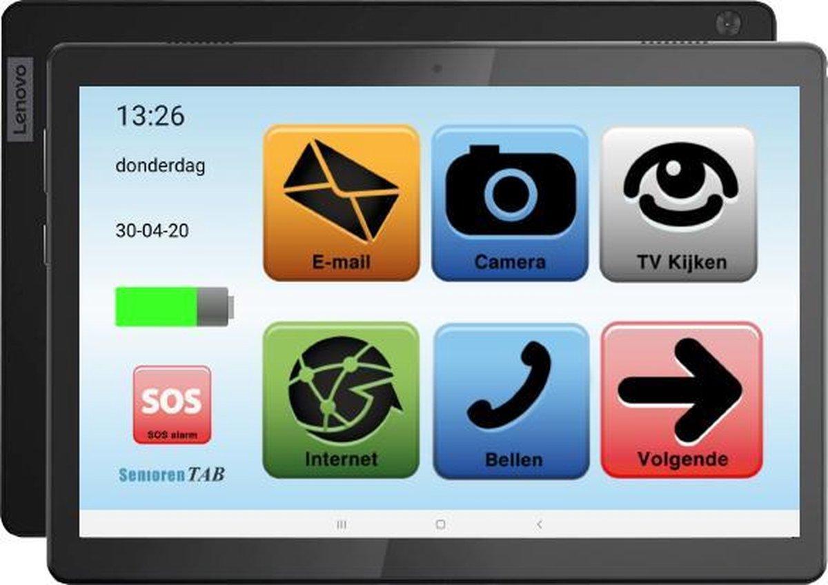 Senioren Tablet 32GB Wifi Vlaamse Versie (De officiele SeniorenTab op basis van een Lenovo Tablet)