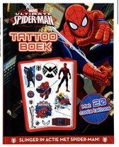 Tattoo boek spider-man, tatoeages, spiderman, marvel tattoos