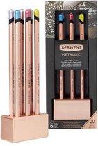 Derwent Limited Edition Metallic kleurpotloden in koperen houder-  Gift Set