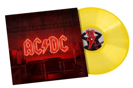 CD cover van Power Up (Coloured Vinyl) van AC/DC