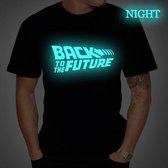 T-shirt 'Back To The Future- Glow In The Dark' (91266) XL