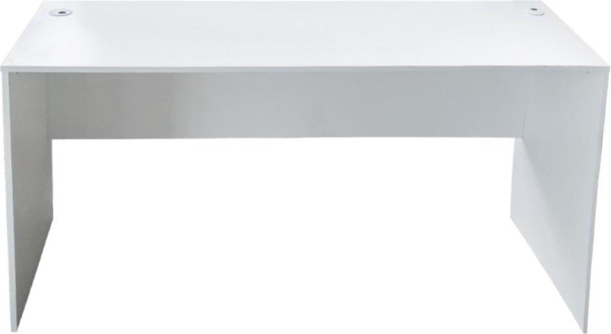 VDD Gaming Bureau - laptoptafel - 140x50x73 cm - wit