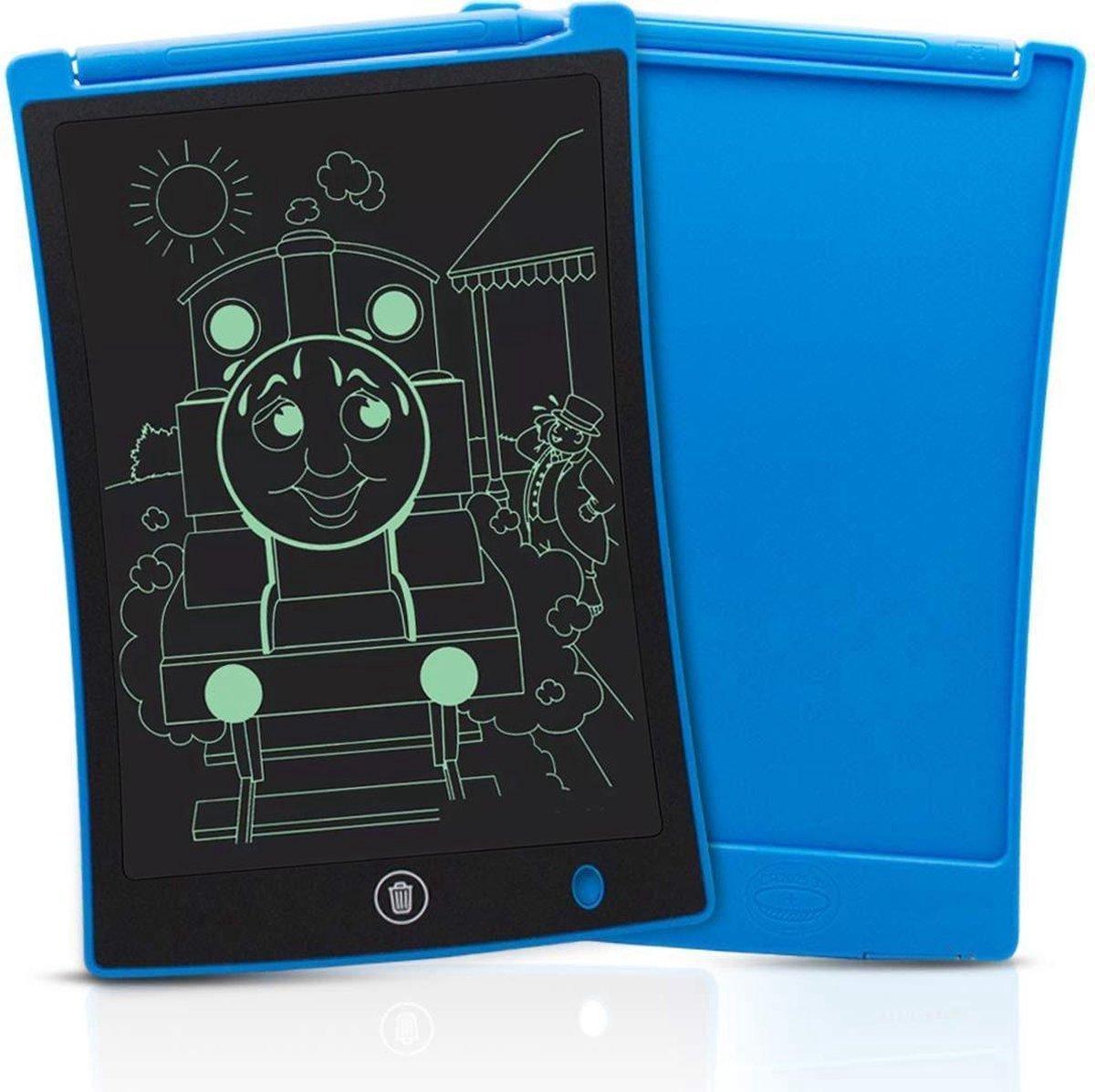 8,5 Inch Draagbare LCD-Tekenbord met Wis functie - Elektronisch Tekentablet Incl. Stylus Pen - Kinder Tablet