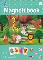 magnetisch boek dierenpark | kinder puzzelboek | magneetboek 45pcs