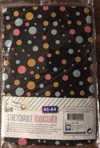 craft sensations rekbare boekomslag stretchable book cover A5 maat, Geen lijm , mooie cadeau
