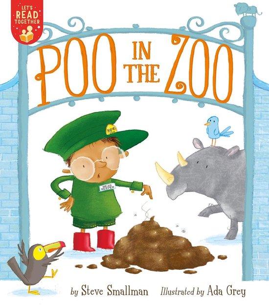 Boek cover Poo in the Zoo van Steve Smallman (Paperback)