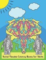 Animal Mandala Coloring Books For Adults