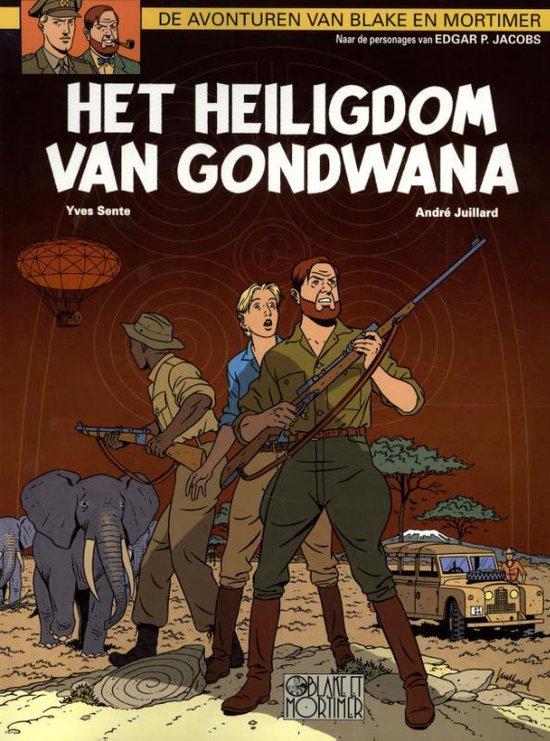 Cover van het boek 'Blake & Mortimer / 18 Het heiligdom van Gondwana'