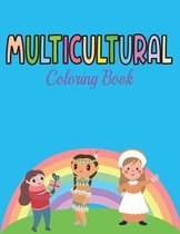 Multicultural Coloring Book