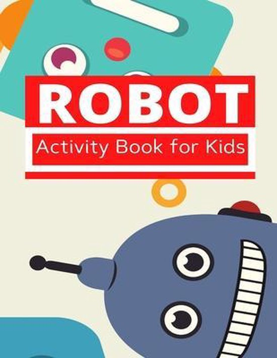 Robot Activity Book