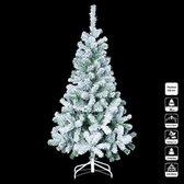 Kunstkerstboom met sneeuw - H 150 cm - Kerstmis - Kerstboom