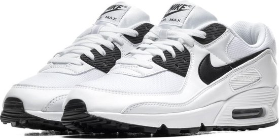 Nike Sneakers - Maat 42.5 - Mannen - wit,zwart