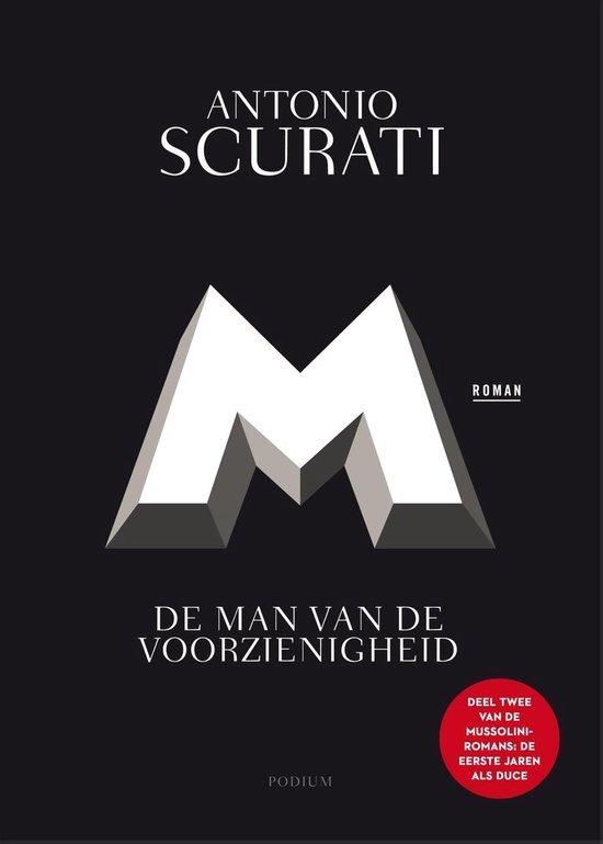 Boek cover M. De man van de voorzienigheid van Antonio Scurati (Paperback)