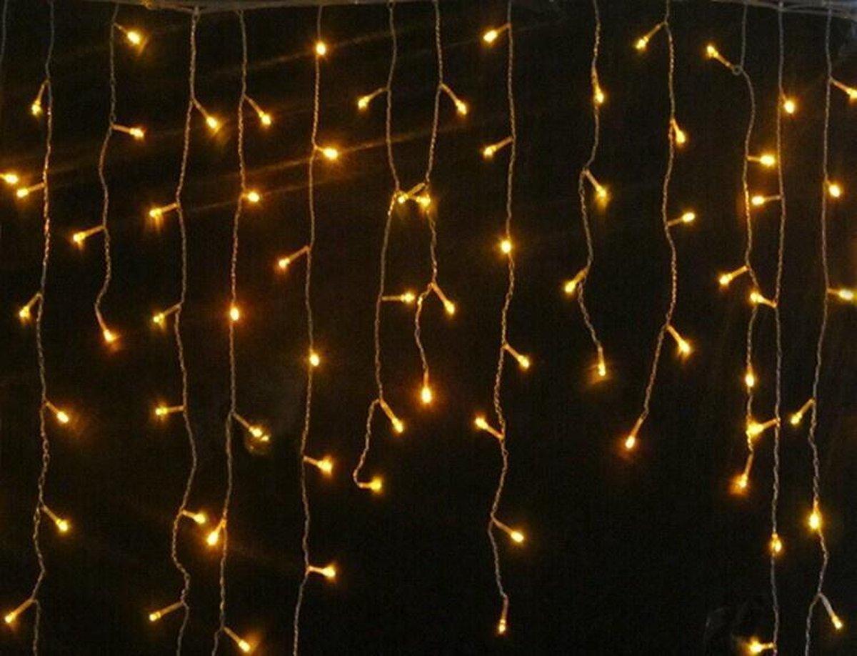 Ledtohave LED-gordijn - 3.5 x 1.0 meter - Warm Wit