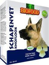 Biofood Schapenvet Maxi Bonbons - Knoflook - 40 stuks