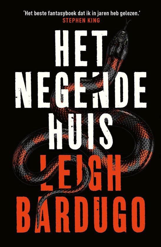 Boek cover Het negende huis van Leigh Bardugo (Paperback)