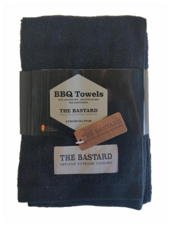 BBQ Towels  - The Bastard - Outdoor cooking - 2 stuks - 45cm x 70 cm -