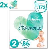 Pampers Harmonie / Pure Maat 2 (4-8kg) 172 Luiers