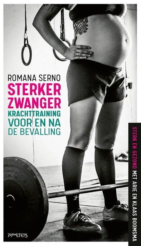 Boek cover Sterker zwanger van Romana Serno (Paperback)