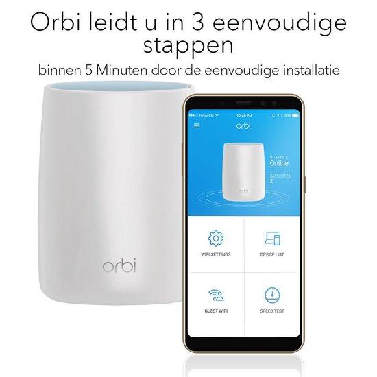 Netgear Orbi RBK53 - Mesh Wifi - Triple Pack