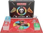 MadWish Pro - truth or dare - do or drink - drinking game - drankspel - gezelschapsspel voor volwassenen - 2 shotglazen - 250 gekke maar originele opdrachtkaarten