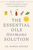Boek cover The Essential Oils Hormone Solution van Dr. Mariza Snyder (Hardcover)