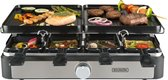 Bourgini Gourmetstel Raclette Grill Plus - 8 personen
