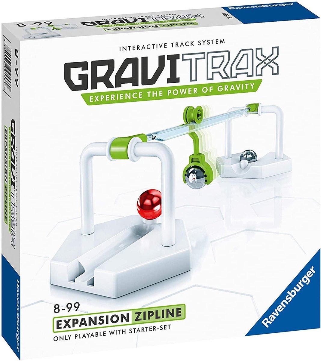 GraviTrax  Zipline Uitbreiding - Knikkerbaan