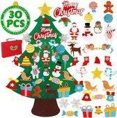 Vilten kerstboom voor kinderen – Kerstcadeau – Kinder kerstboom – Kunstkerstboom - Inclusief opbergtas