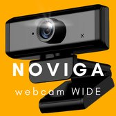NOVIGA webcam voor PC-Mac via USB met microfoon-perfect helder beeld!
