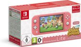 Nintendo Switch Lite Coral Incl. Animal Crossing: New Horizons & Nintendo Switch Online - Limited Edition