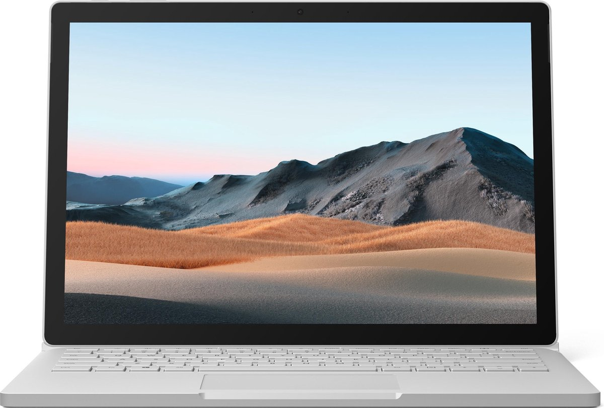 "Microsoft Surface Book 3 Hybride (2-in-1) 34,3 cm (13.5"") 3000 x 2000 Pixels Touchscreen Intel® 10de generatie Core™ i7 32 GB LPDDR4x-SDRAM 1000 GB SSD NVIDIA® GeForce® GTX 1650 Max-Q Wi-Fi 6 (802.11ax) Windows 10 Pro Platina"