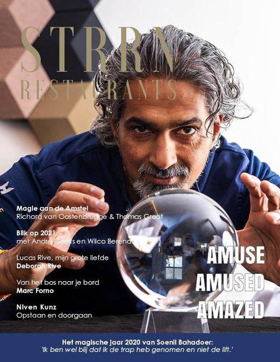Boek cover STRRN Magazine - Alles over de culinaire top van Nederland. van Kees Bruins (Paperback)