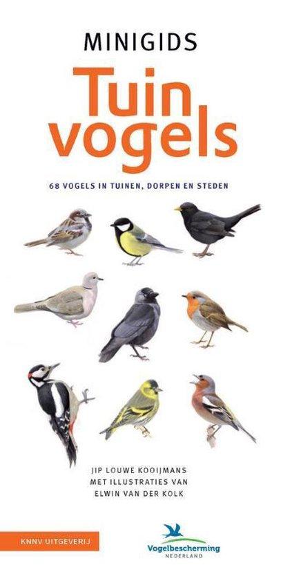 Boek cover Minigids  -   Set Minigids Tuinvogels van Jip Louwe Kooijmans (Onbekend)