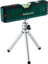 Parkside® - Laserwaterpas - Kruislijnlaser - Bouwlaser - Met mini-statief - Pointerfunctie - LED verlichting