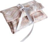 Revived - herbruikbare cadeauverpakking van textiel - retro - duurzame kadoverpakking - het alternatief voor cadeaupapier en cellofaan