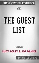 Omslag The Guest List: A Novel by Lucy Foley & Jot Davies: Conversation Starters