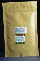 Groene Thee Poeder 100% Zuiver 100gr - Matcha Poeder, Green Tea Powder - Voor Gezichtsmasker of Lichaamspakking
