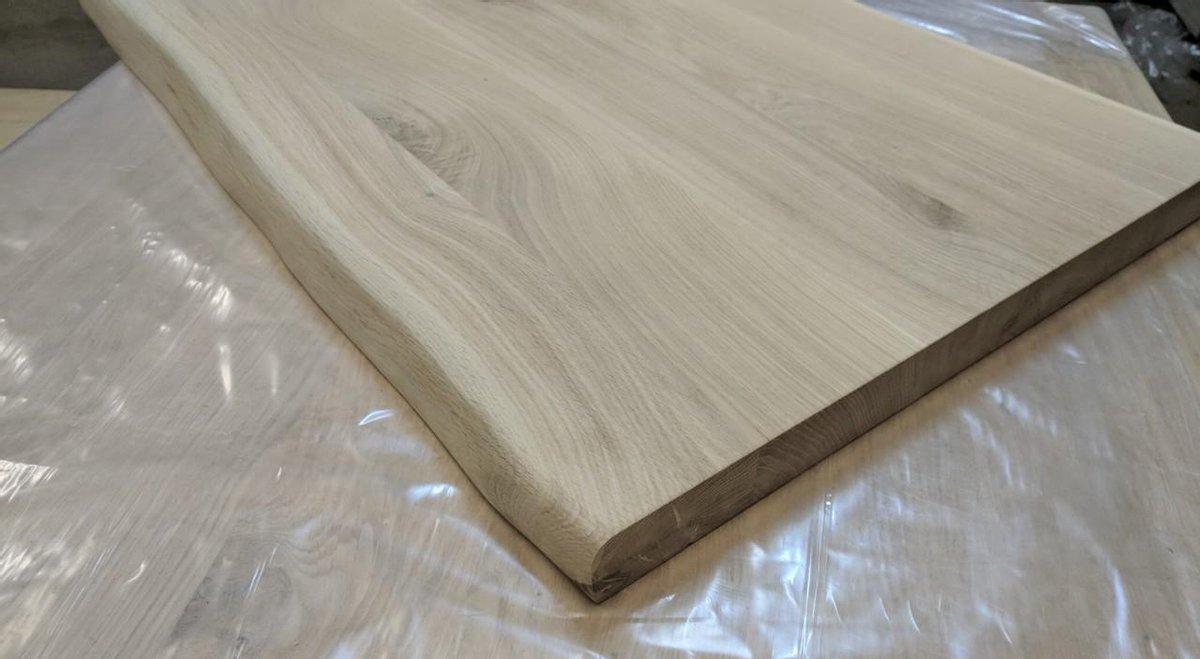 22mm Eiken Houten Wastafelblad OnGo - 42cmx140cm - Wandplank
