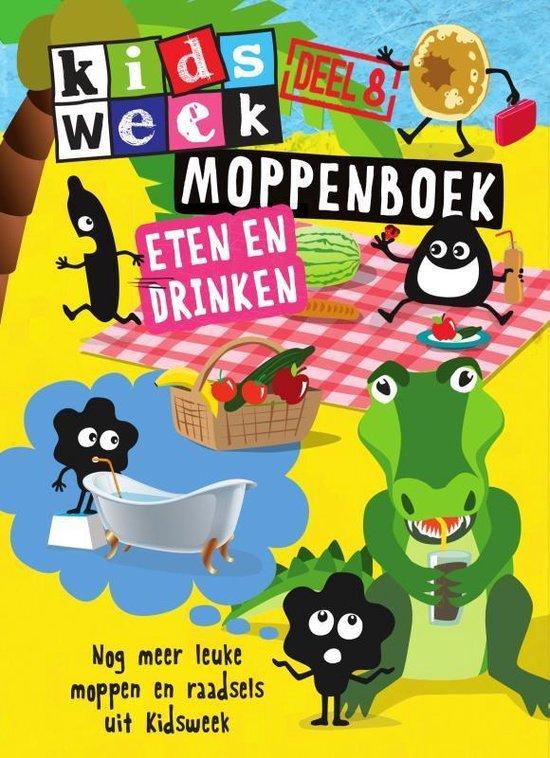Boek cover Kidsweek 8 -   Moppenboek eten en drinken van  (Hardcover)